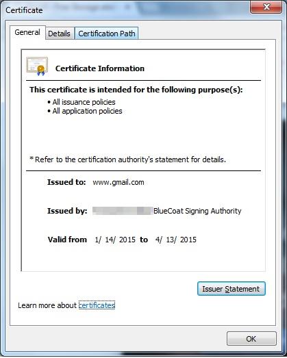 Certificate Work